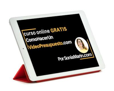 Curso Online Gratis ComoHacerunVideoPresupuesto.com